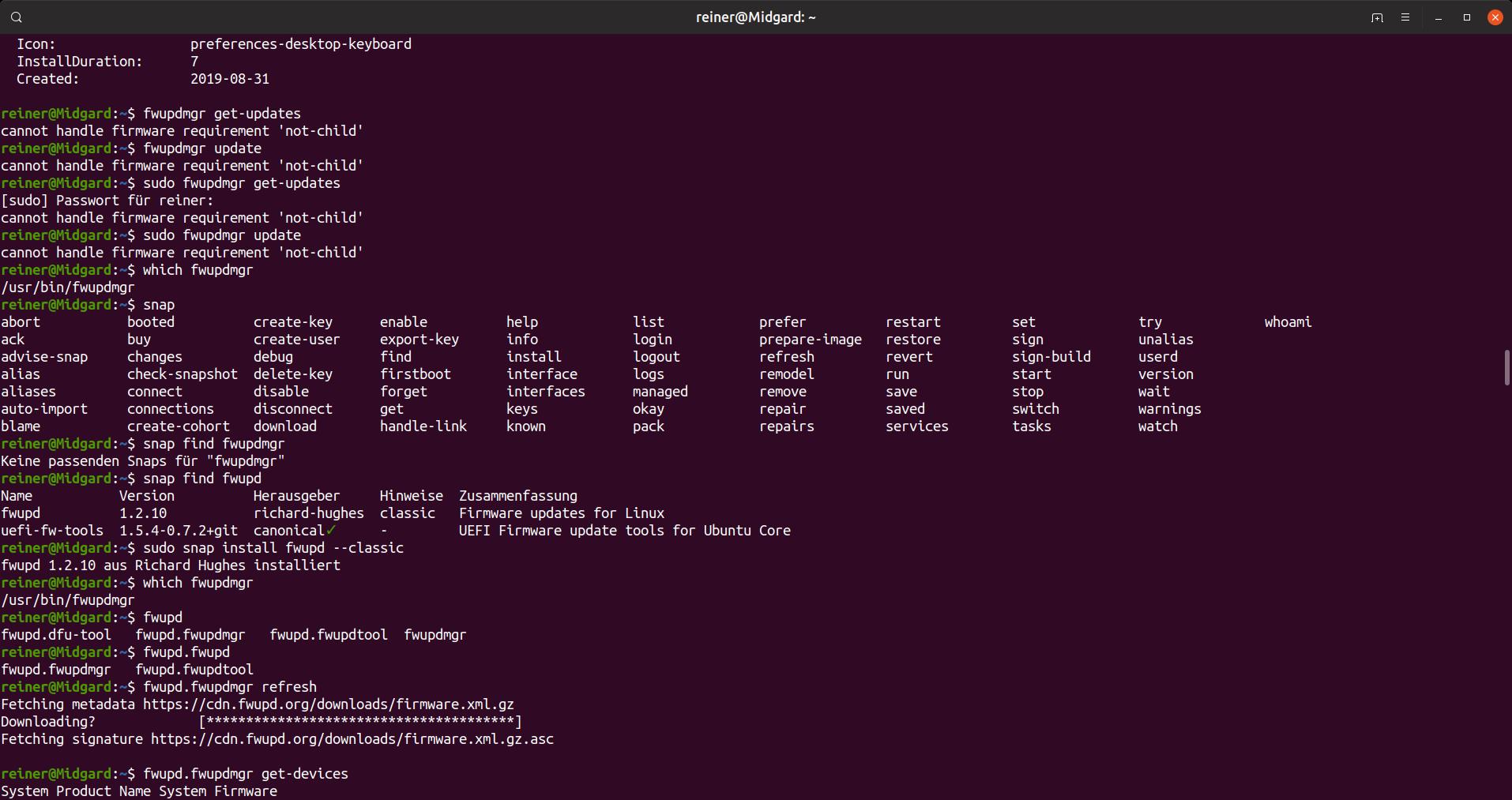 Logitech Unify Firmware unter Ubuntu updaten